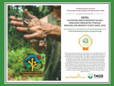 Medicinal & Aromatic Plants Program, Nepal