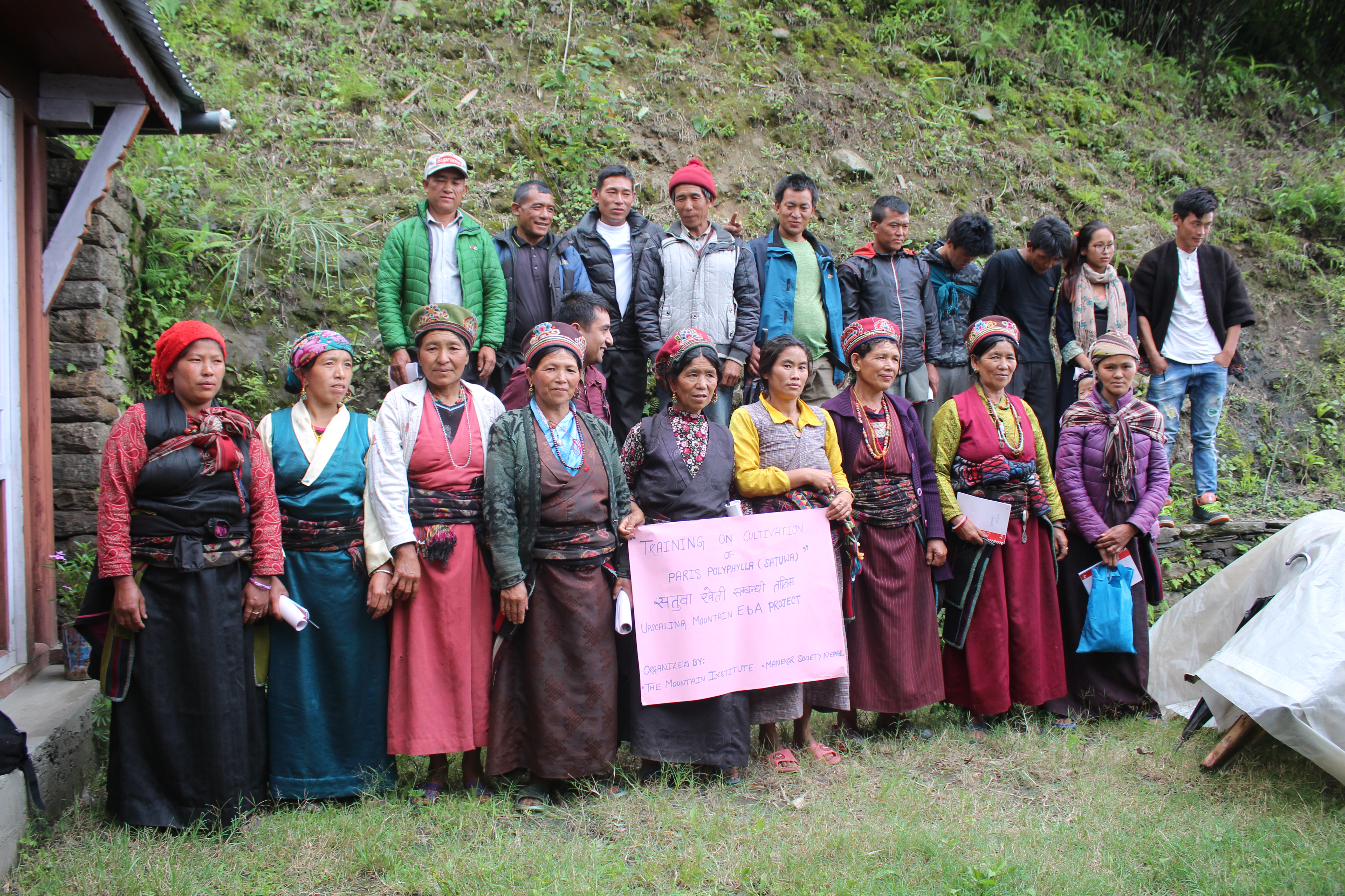Satuwa Training, participants from Gongang Village